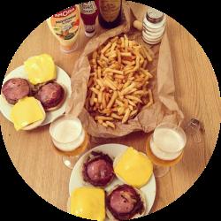 burger maison4rond
